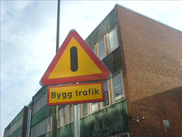 Bygg trafik?