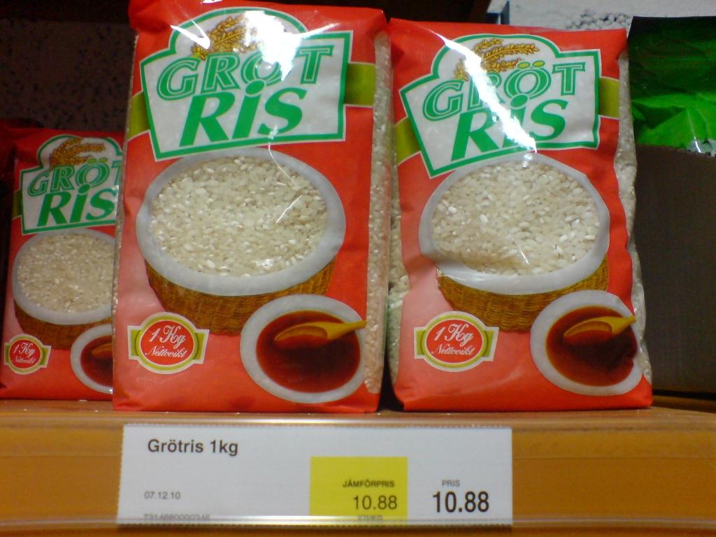 Gröt … ris