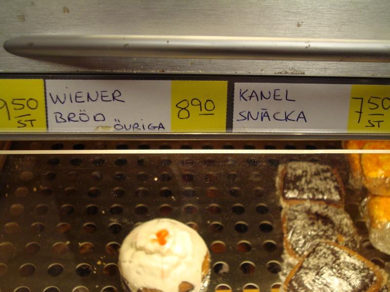 Wiener Bulle, Kanel Snäcka