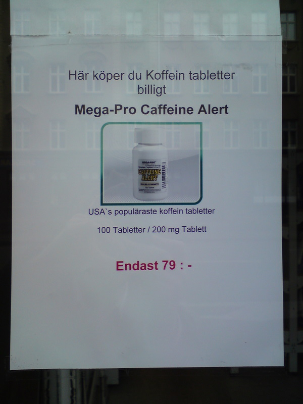 Koffein tabletter