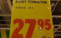 Kvist tomater