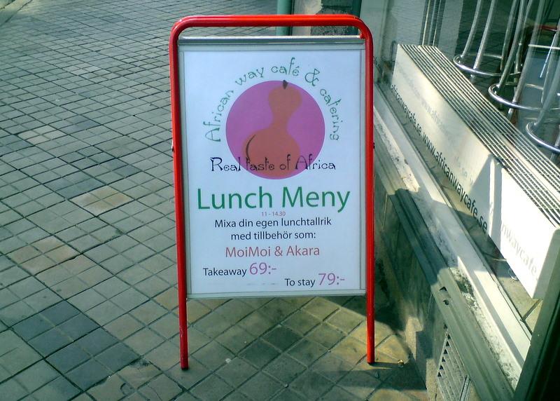 Lunch Meny