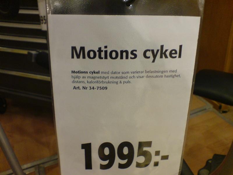 Motions cykel