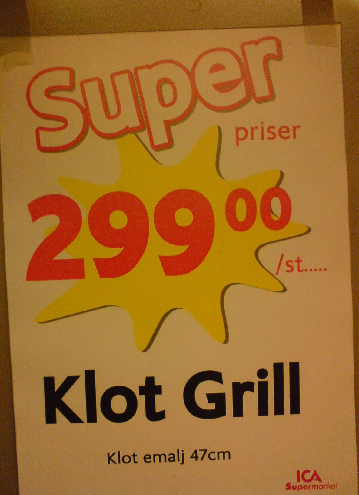 Super priser på en Klot Grill