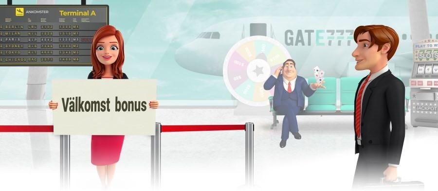 Välkomst bonus